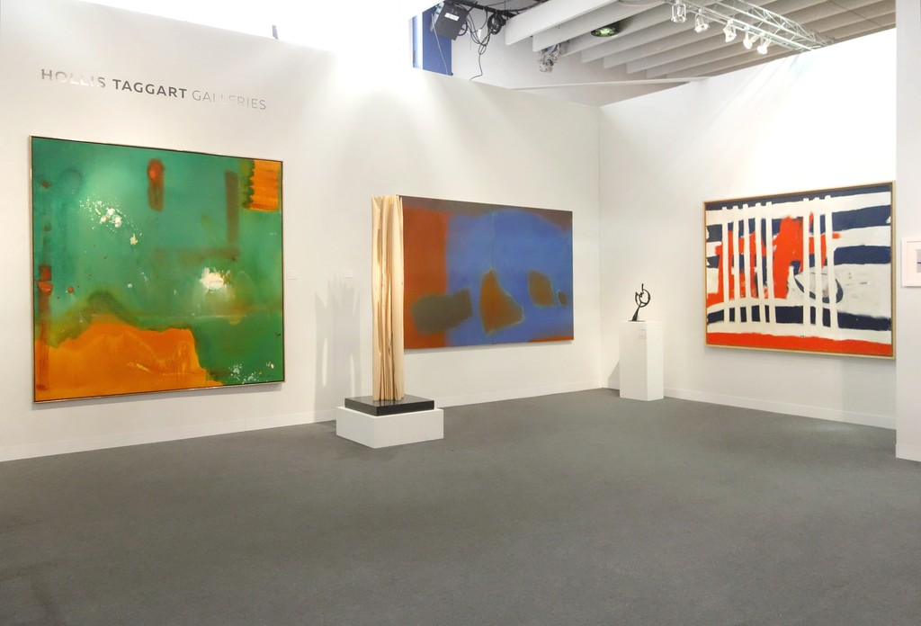 The Armory Show | Booth 406 - From left to right: Helen Frankenthaler, Pablo Atchugarry, Esteban Vicente, Herbert Ferber, and Jack Tworkov