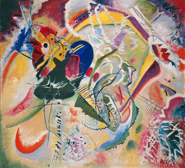 , 'Improvisation 35,' 1914, Kunstmuseum Basel