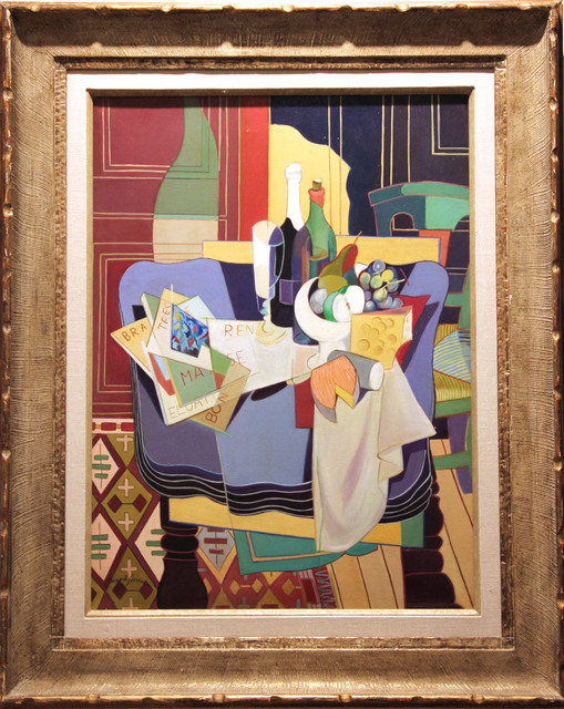 ", '""Composition cubiste"",' ca. 1938, Jane Kahan Gallery"
