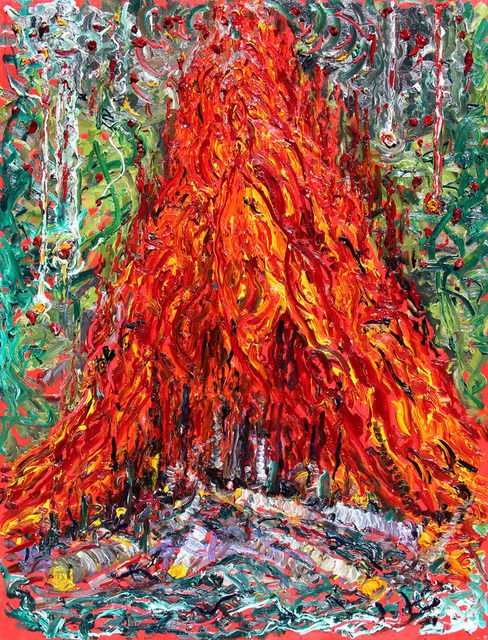 , 'David's Bonfire,' , Bau-Xi Gallery