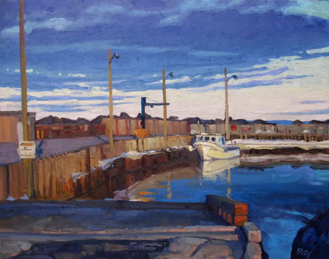 Réjean Roy, 'Premier bateau', 2019, Gallery 78