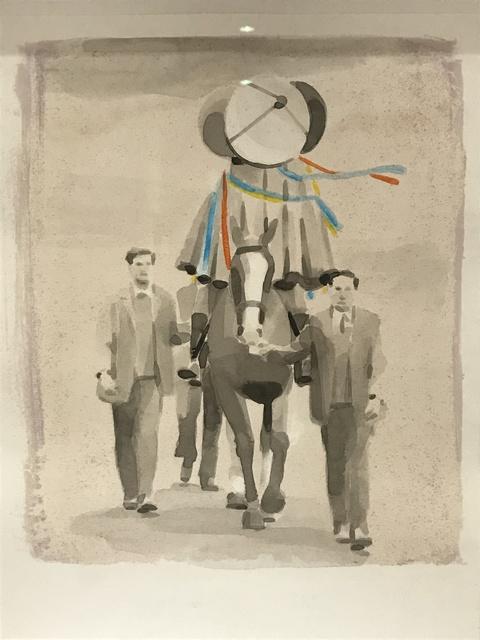 Adam Dix, 'Aloft (Study)', 2011, bo.lee gallery