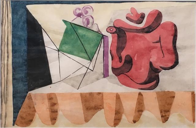 Le Corbusier, 'Nature morte à la lanterne et à la cafetière', 1930, Galerie Thomas