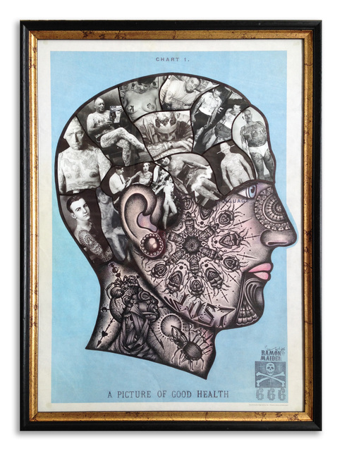 , ''Inked Philosophy',' 2015, StolenSpace Gallery