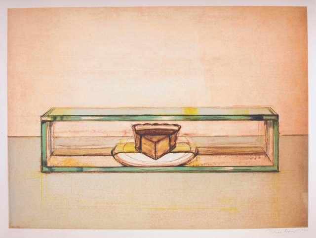 , 'Pie Case ,' 2002, Lyndsey Ingram