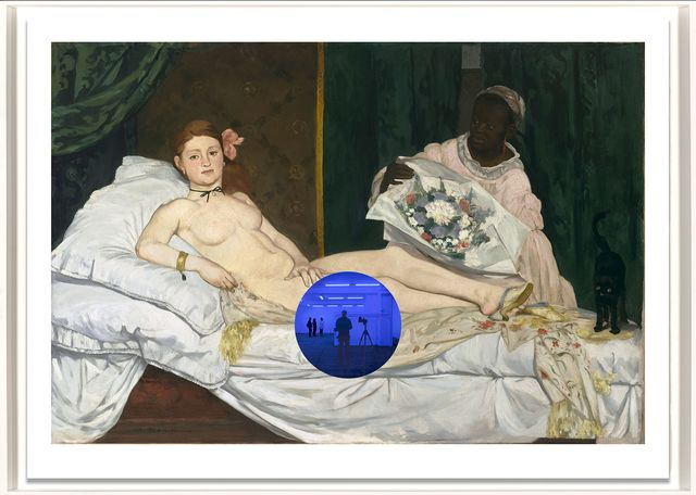 , 'Gazing Ball (Manet Olympia),' 2017, Two Palms
