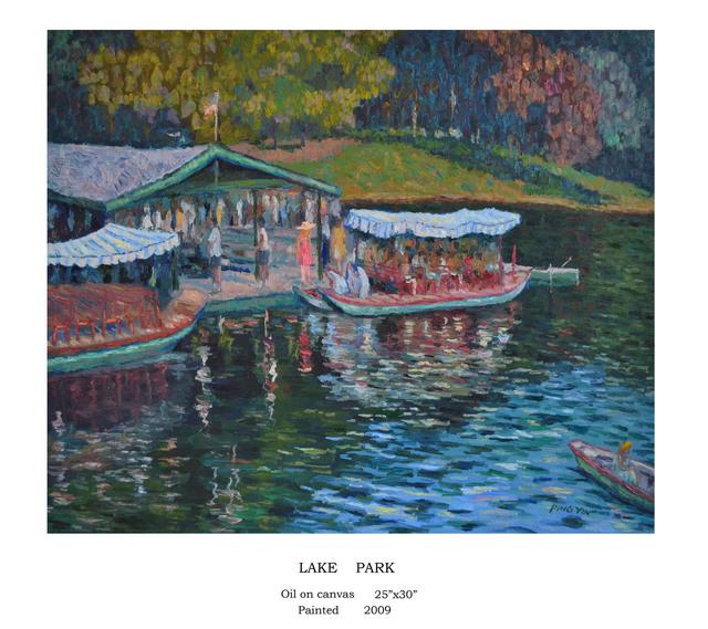 , 'Lake Park,' 2009, The Galleries at Salmagundi