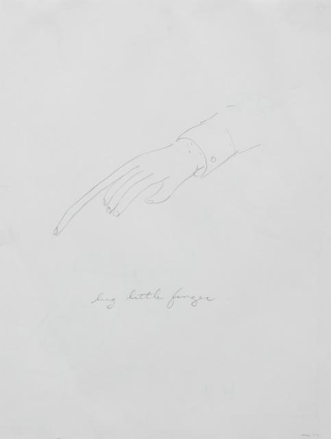 , 'Big Little Finger,' 1974, The Metropolitan Museum of Art
