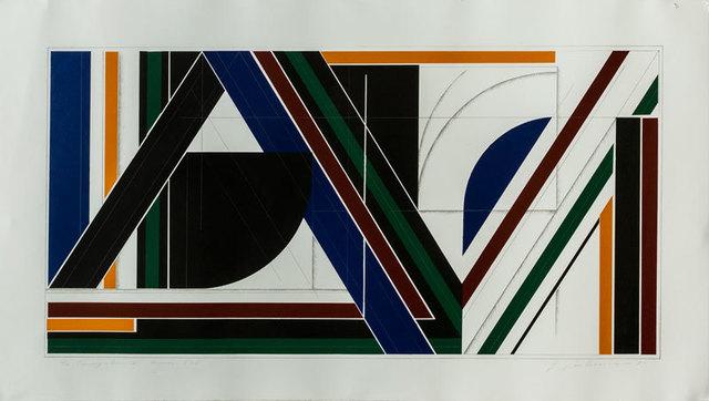 , 'Triangulum X: Hommage to F.L.,' 1983, Tufenkian Fine Arts