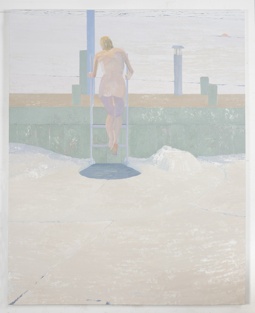 Michael Meehan, 'Ice Bather; Tentative Step', 2015, Geary
