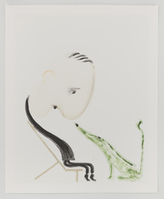 Sanya Kantarovsky, 'Untitled', 2019, Print, Monotype, Taka Ishii Gallery