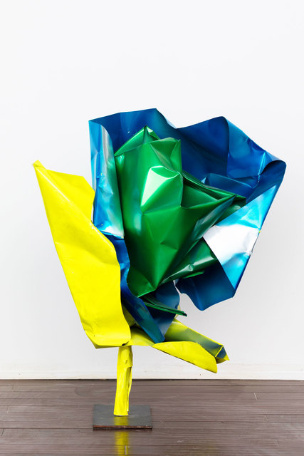 , 'Yellow and Blue Freedom Sunflower,' 2016, The Untitled Space