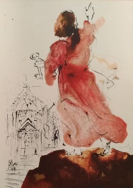 "Salvador Dalí, 'Tu es Petrus - From ""Biblia Sacra""', 1964, Wallector"