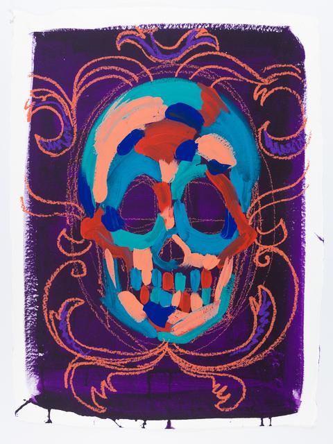, 'Purple Skull I,' 2016, ACA Galleries