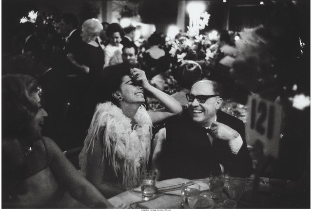 Lawrence Schiller, 'Sophia Loren and Carlo Ponti at the Academy Awards Dinner', 1962, Heritage Auctions