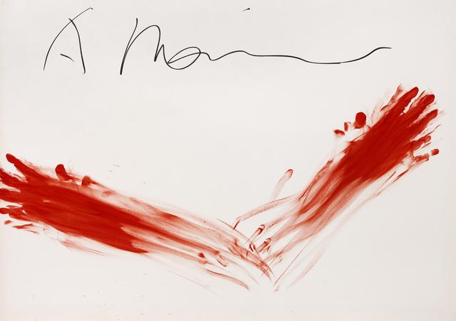 , 'Sans titre (Fingermalerei),' 1973, Galerie Lelong & Co.
