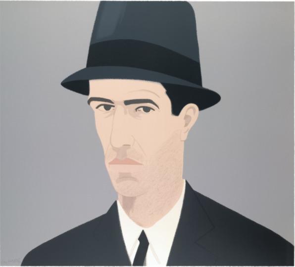, 'Alex Katz, Self-Portrait (Passing),' 1990, Oliver Cole Gallery