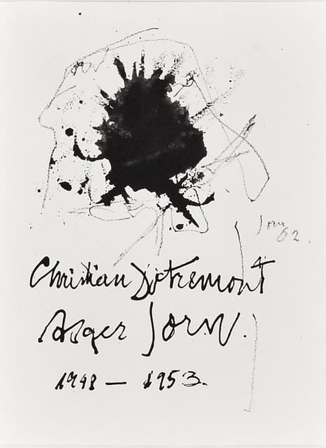 Asger Jorn, 'The things' hair', 1962, Millon Belgium