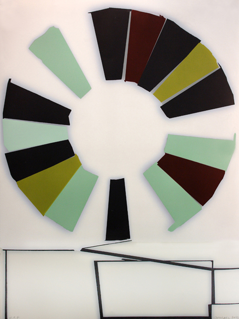 , 'The Wheel,' 2011, Atrium Gallery