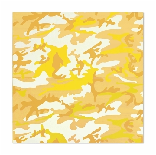 Andy Warhol, 'Camouflage', Synthetic polymer and silkscreen inks on canvas, Christie's