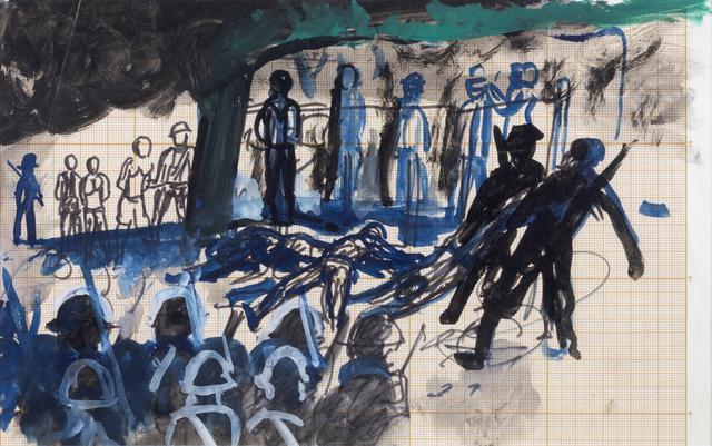""", 'Sin título (La matanza de Daejeon). De la serie """"Guerra de Corea"""".,' ca. 1965, Cosmocosa"""