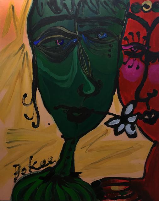 , 'ease heart,  VIRIDIAN ,' 2015, Cosmos Gallery