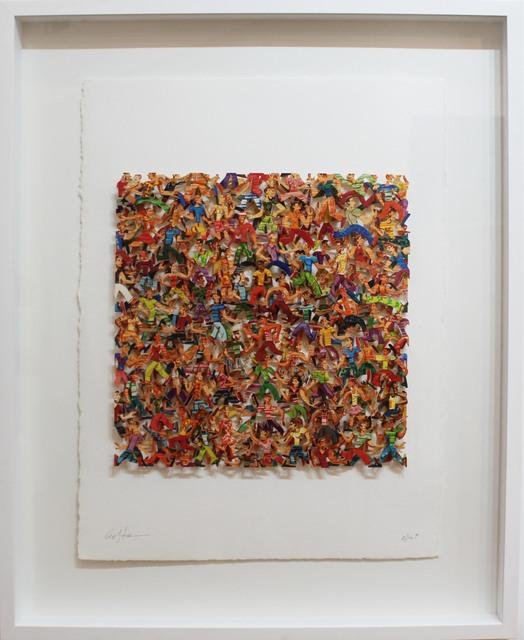, 'Rush Hour - Paper Cut,' 2007, Galerie Duret