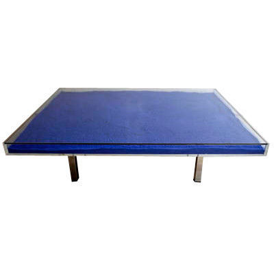 Yves Klein | Blue Table (1963) | Available For Sale | Artsy