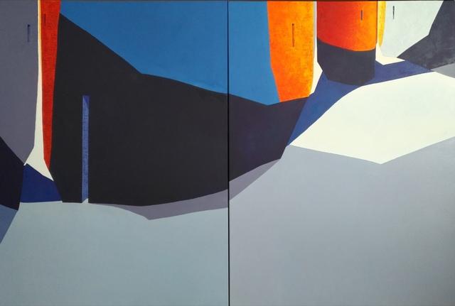 Tomàs Sunyol, 'L'Eixample (diptych)', 2019, Villa del Arte Galleries
