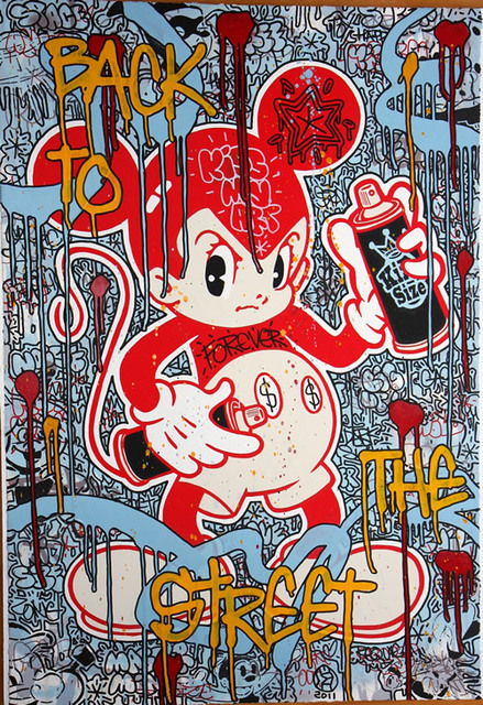 Speedy Graphito, 'Back to the Street Astro Boy ', 2011, Denis Bloch Fine Art