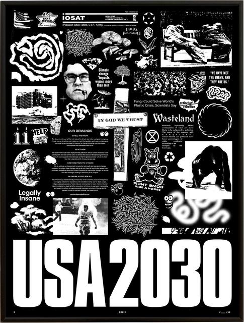 Ian Stoufer, 'USA 2030', 2019, Subliminal Projects