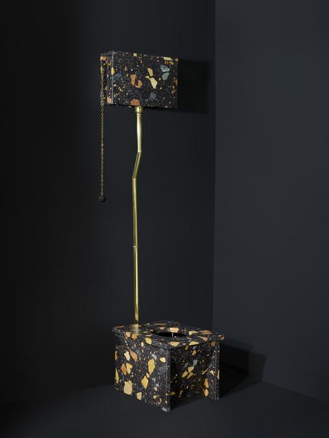 , 'Marmoreal Toilet,' 2015, dzek