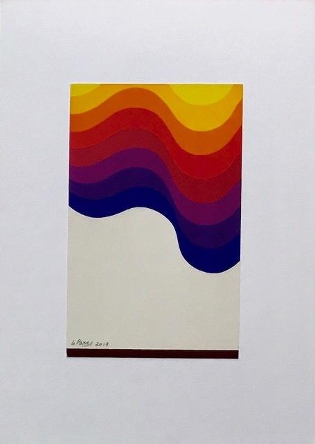Julio Le Parc, 'Pochoir unico #20', 2013, Kunzt Gallery