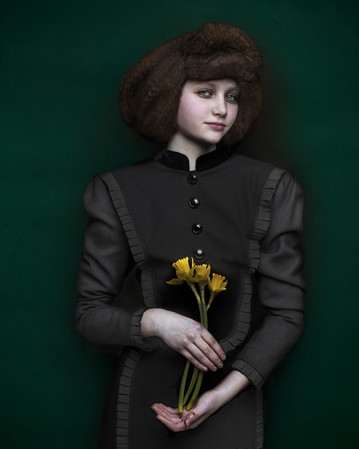 , 'Girl with Daffodils ,' 2017, ArtHelix Gallery