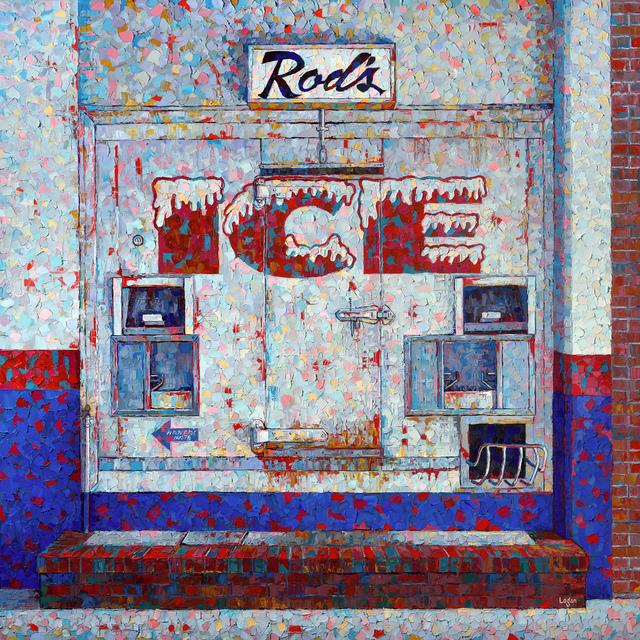 Raymond Logan, 'Rod's Ice', 2020, Painting, Oil on canvas, George Billis Gallery