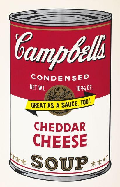 Andy Warhol, 'Soup Can ll, Cheddar Cheese', 1969, Vertu Fine Art