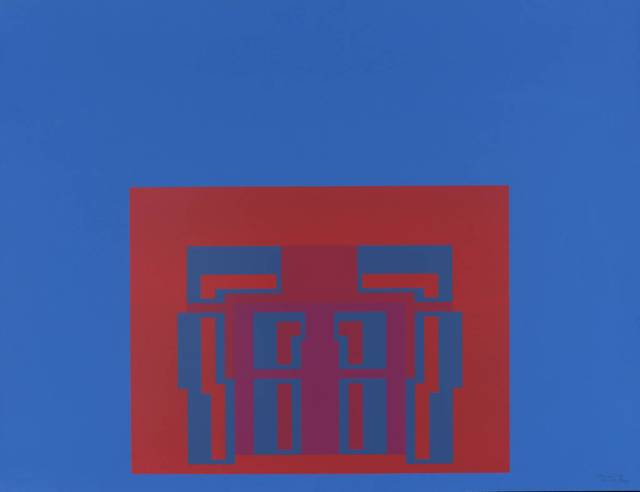 , 'The Paramount Suite (blue),' 1969, Bernard Jacobson Gallery