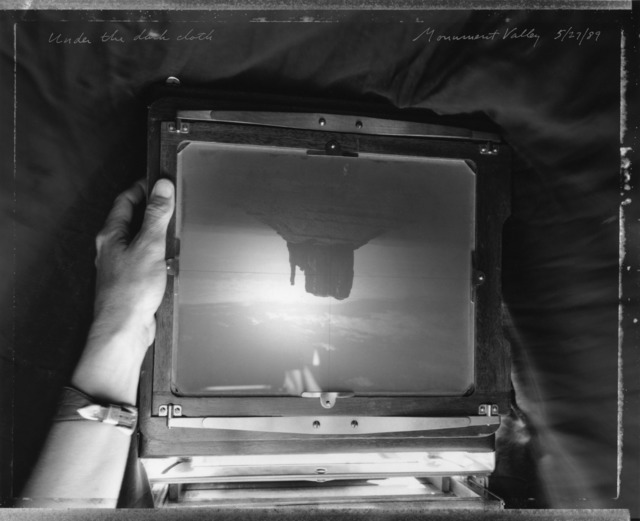 Mark Klett, 'Under The Dark Cloth ', Photography, Gelatin Silver Print, photo-eye Gallery