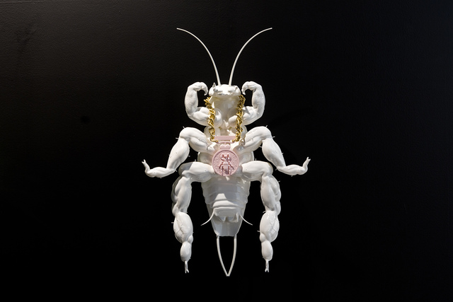 , 'Albino Cockroach becomes the lightest colour bodybuilding championship winner in history ,' 2018, Edouard Malingue Gallery