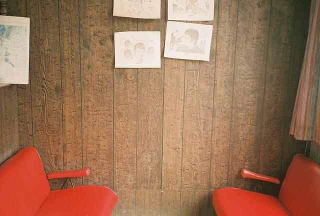 , 'Untitled (Red Salon),' 2014, Cob