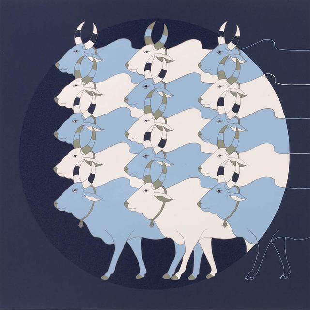 , 'Blue Dawn,' 2012, Grosvenor Gallery