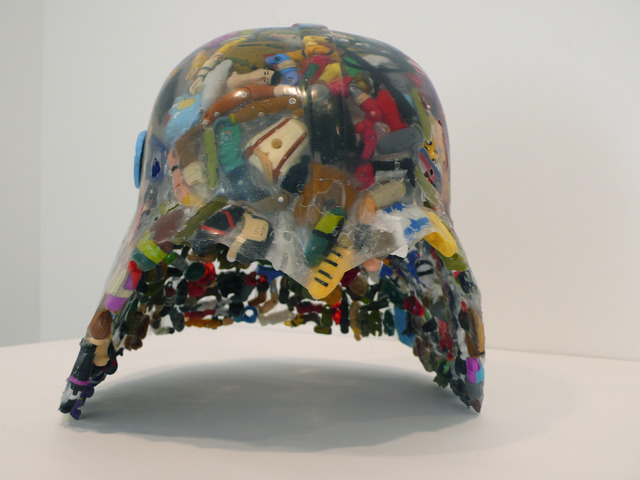, 'Fedayeen Helmet (Strike the Empire Back series),' 2009, Jane Lombard Gallery
