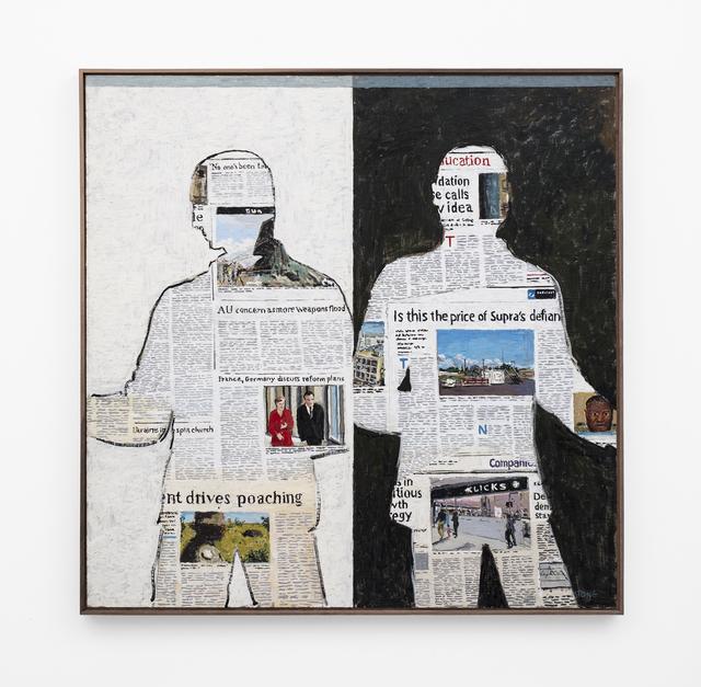 , 'Newspaper Men,' 2018, SMAC
