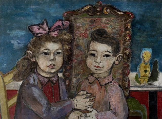 , 'Portrait of Mark and Myra Goldberg,' Undated, Ben Uri Gallery and Museum