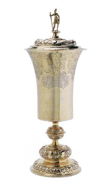 , 'Bismarck Cup,' North German-ca 1580, Kunstkammer Georg Laue
