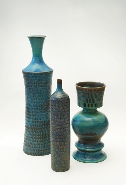 , 'vessels in stoneware,' ca. 1965, Hostler Burrows