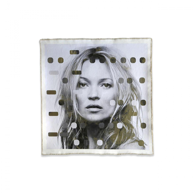 Bill Claps, 'IT'S ALL DERIVATIVE, KATE MOSS, POSITIVE', Exhibit by Aberson