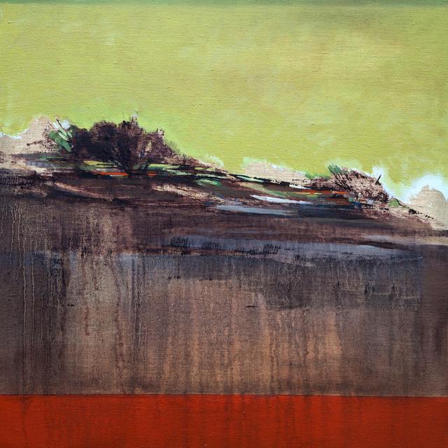 María José Concha, 'Cascading Landscape', 2014, Painting, Oil on linen, DECORAZONgallery