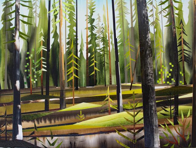 , 'Forest near Teslin,' 2017, Peter Robertson Gallery