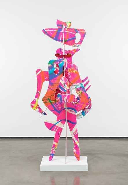 Aaron Curry, 'Pink Ink', 2019, David Kordansky Gallery